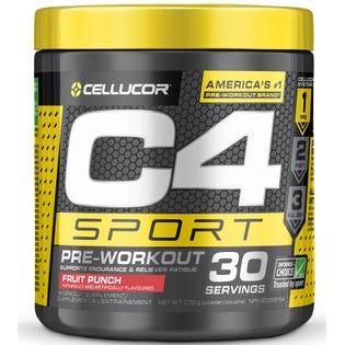 Cellucor C4 Sport Pre-Workout Fruit Punch 30 Servings