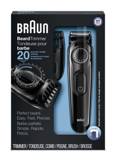 BRAUN Beard Trimmer - BT3020