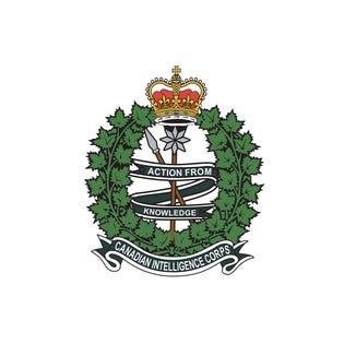 Canadian Intelligence Corps (C INT C) Sticker