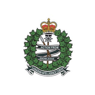 Canadian Intelligence Corps (C INT C) Magnet