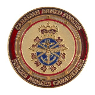 Canadian Army Coin