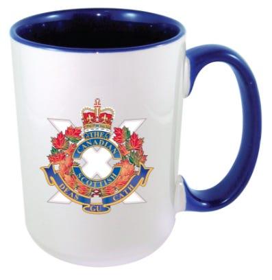 The Canadian Scottish Regt. Coffee Mug
