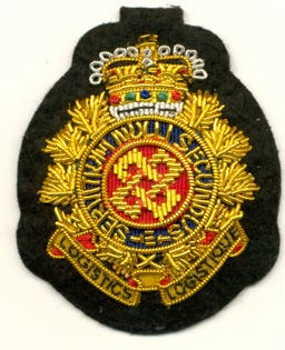 RCLS Embroidered Hat Badge