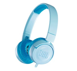 JBL Junior On-Ear Headphone Blue JBLJR300BLUAM