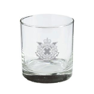 CDN Scottish Regt. Whisky Glass