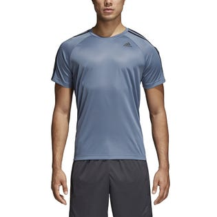 T-shirt avec troisbandes D2M Adidas