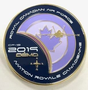 CF18 Demo Team Coin