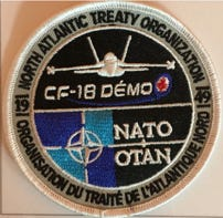 CF18 Demo Team Patch-NATO