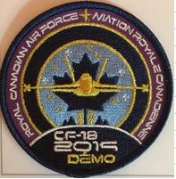 CF18 Demo Team PatchA-RCAF