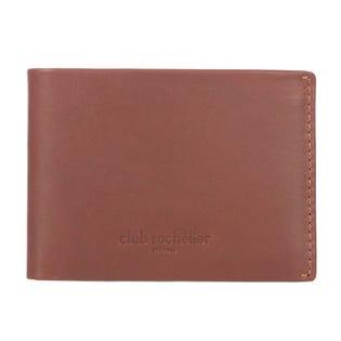 Club Rochelier Mens Slimfold Leather Wallet Cognac CL11254-R56-COGNAC (EA1)
