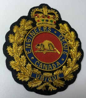CME (GRC) Blazer Crest Badge