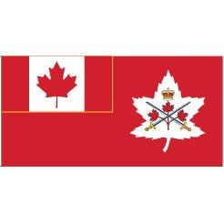 """Canadian Army Flag 36x60"""""""
