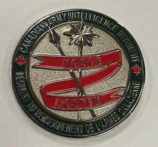 CA Intelligence Regt. Coin