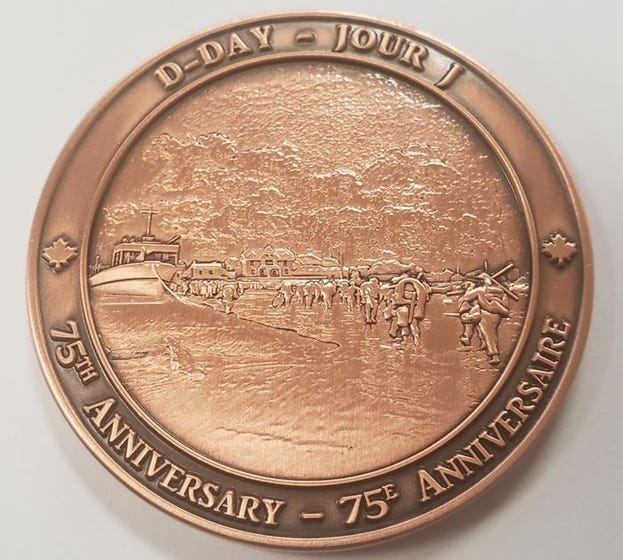 D-Day 75th Anniversary Coin