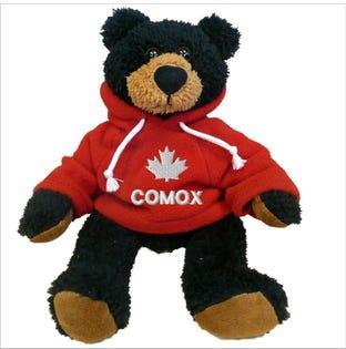 Comox Red Hoodie Bear