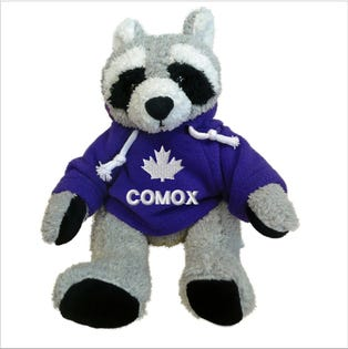 Comox Royal Blue Hoodie Raccoon