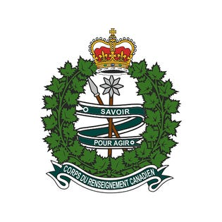 Canadian Intelligence Corps (C RENS C) Sticker