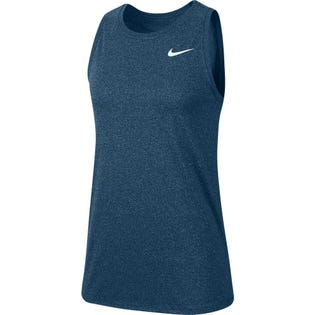 Nike Women's Dry Swoosh Tank Top Blue