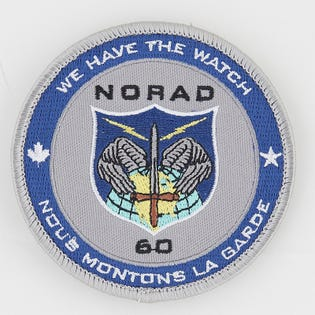 Norad 60 Patch