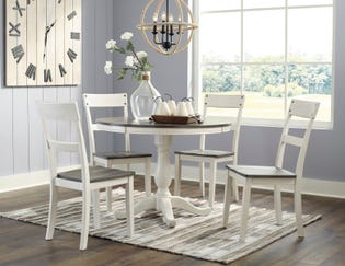 Ashley Round Dining Room Table Nelling