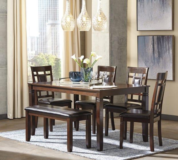 ASHLEY Dining Room Table Set Bennox