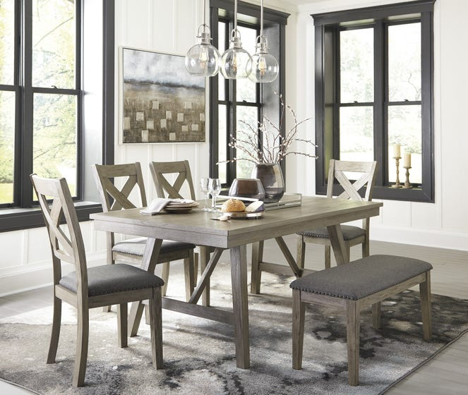 Ashley Rectangular Dining Room Table Aldwin