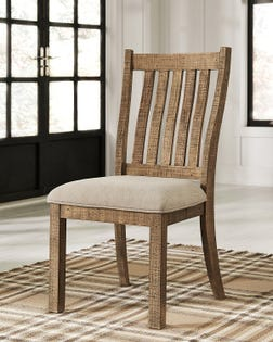 ASHLEY Dining UPH Side Chair (2/CN) Grindleburg