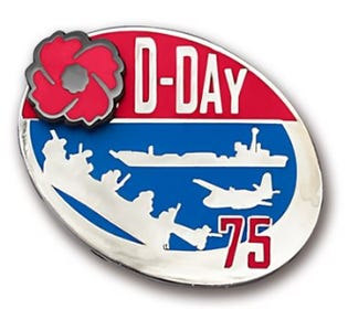 D-Day 75 - Lapel Pin