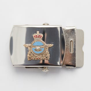 RCAF Crest Silver Belt Buckle