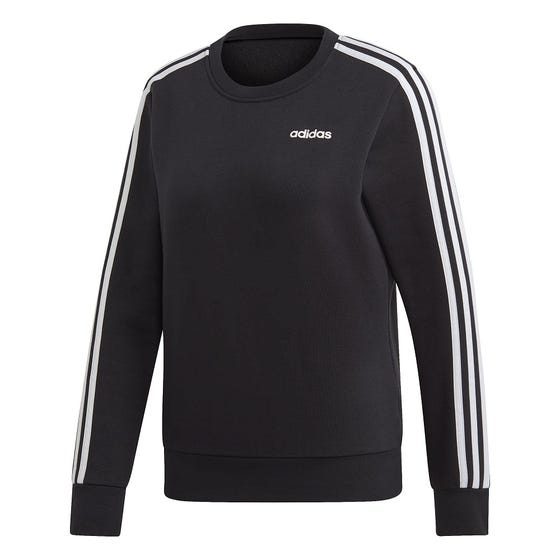 ADIDAS Women's Essential 3 Stripe Sweat Pull Over
