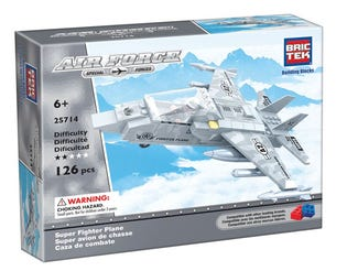 BRICTEK - Air Force Super Fighter Plane (25714)