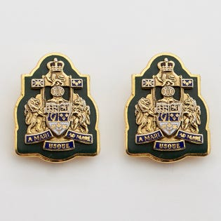 DEU Collar Rank Pins Chief Warrant Officer  (Pair)
