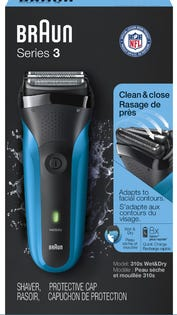 BRAUN Series 3 - Wet and Dry Shaver 310s