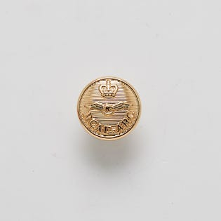 RCAF 4PK GOLD BUTTON MED