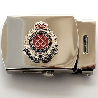 RCLS Silver Belt Buckle