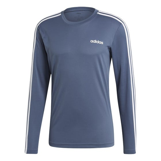 ADIDAS Men's D2M Climalite Long Sleeve T-Shirt