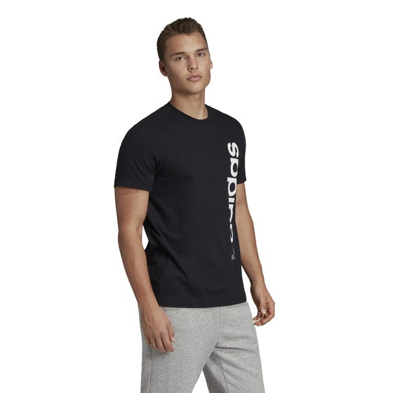 Adidas Men's Vertical Short Sleeve Tee