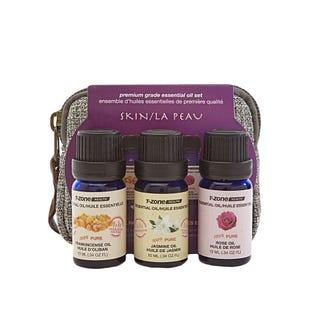 Huiles essentielles pour la peau T ZoneHealth, paquet de 3 (EA1)