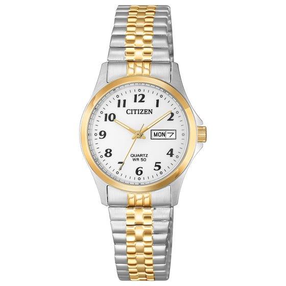 CITIZEN Women's Quartz Two Tone Watch