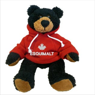 Esquimalt Black Bear Plush 10""