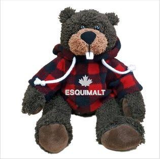 """Esquimalt Beaver Plush 10"""""""