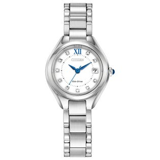 Citizen Eco Drive Silhouette Crystal Watch EW2540-83A (EA1)