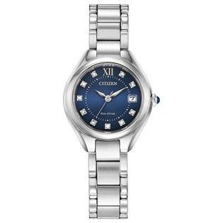 Citizen Eco Drive Silhouette Crystal Watch EW2540-83L (EA1)