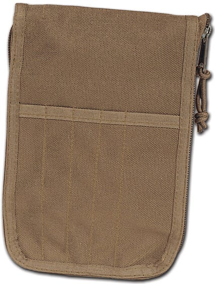 MIL-SPEX Zippered Message Pad Cover