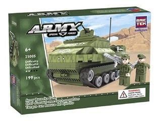 Bric Tek Armée Char d'assaut avec lance-roquettes