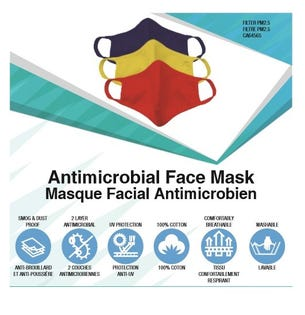 NF Reusable Face Masks Kids 3 Pk