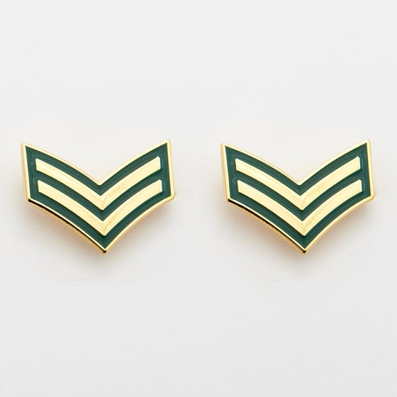 ARMY 2 Pk DEU Collar Rank Corporal