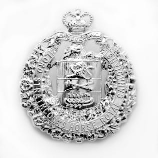 LdSH(RC) Cap Badge