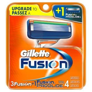 lames de Gillette Fusion 4's