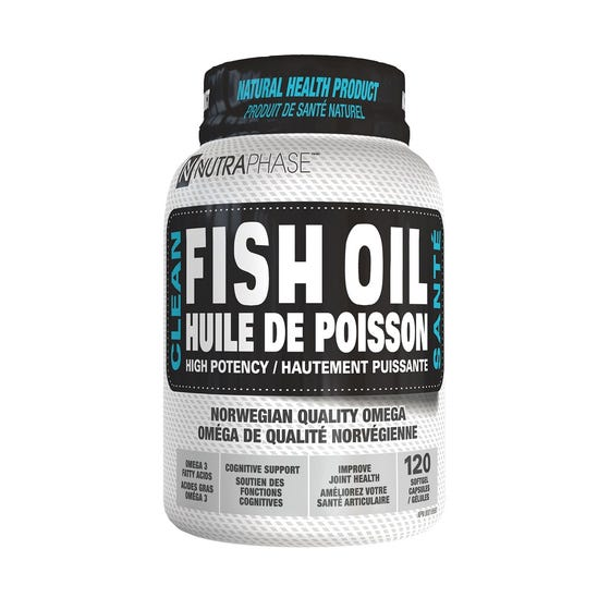Nutraphase Clean Fish Oil - 120 Servings
